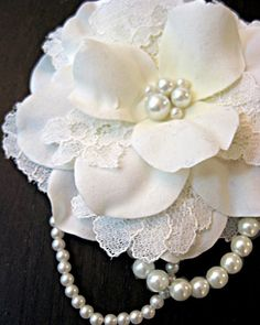 Interesting Craft  Ideas With Lace. Absolutely love all of these ideas.