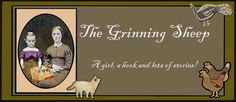 Kathy Clark from Briarwood Folk art and the grinning sheep blog