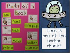 Anchor chart from Blasting Off With Reader's Workshop (on teacherspayteachers) by Kim Adsit and Michele Scannell