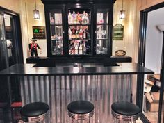 hutch turn, retreat idea, bar diy, repurposed furniture bar, bar idea