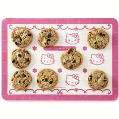 cute Hello Kitty silicone baking mat for baking from Japan