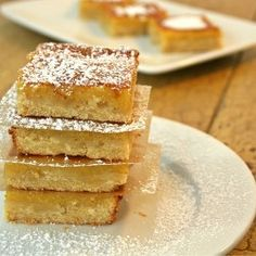 Vegan GF Lemon Bars