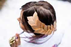 Channel Your Inner Olympian with Our DIY Laurel Head Wreath
