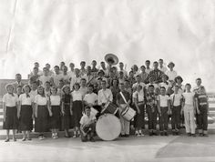 Shorpy Historical Photo Archive :: Junior High Band