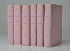 Jane Austen Collection: & pink too!