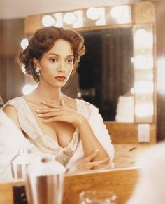 "Halle Berry as Dorothy Dandridge in ""Introducing Dorothy Dandridge."" #celebrity #bio"