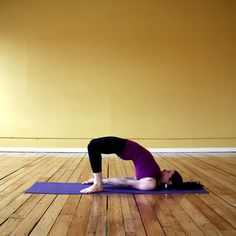 Yoga poses for before bed.