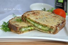 Parmesan Crusted Pesto Grilled Cheese | from willcookforsmiles.com | #pesto #grilledcheese #sandwich