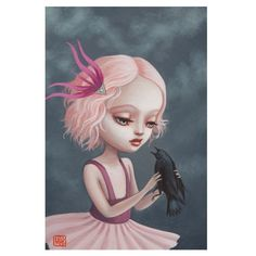 Abbi and the Raven by Mab Graves - love this!