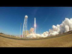 Antares ORB-1 Launch Pad Camera