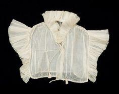 chemisette  1800-20  cotton  snowshill manor