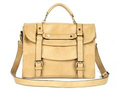 An oversized satchel is a chic update to the ordinary backpack!