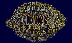 Lemons Typography