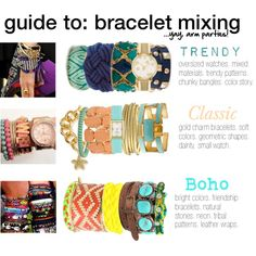 Guide to Bracelet Mixing- this is all me!
