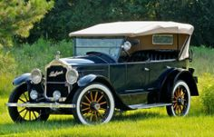 "1921 Packard Single Six Touring. This was Packard's ""small car"" built in Detroit from 1920-1922. The aluminum body was built by Pullman and it has a 241.6 cid, 52 hp, 6 cyl. engine."