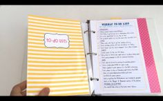 Crystal Wilkerson's 2014 Life Planner. Video walkthrough of what the planner looks like when it's all put together.