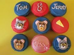 Tom & Jerry Cupcakes