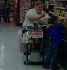 Meanwhile at Wal Mart