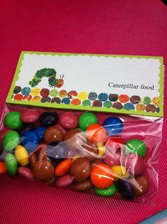 Favor: Caterpillar Food  {via Little Housewife}
