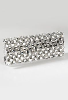 Full Rhinestone Lizaed Print Clutch from Camille La Vie and Group USA prom clutch