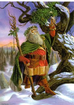 Pagan santa ~ Holly King