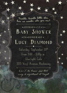 Twinkle twinkle little star baby shower theme