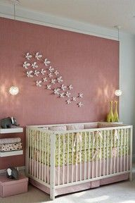 If i have a girl on pinterest 228 pins for Dusty rose wall color
