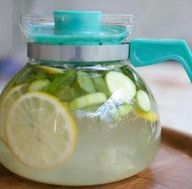 THIS is worth the share! BEST BEST Water To boost weight loss - 2L water, 1 medium cucumber, 1 lemon, 10-12 mint leaves. steep overnight in fridge and drink every day. Also great for general detox--including clear skin! Ok Im on it this weekend!