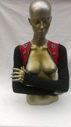 Custom holster style shrug leather and kevlar by 3rdEarthFireproof, $175.00