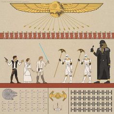 Egyptian Star wars