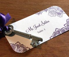 Wedding Day Items: Part One – The Table Photo