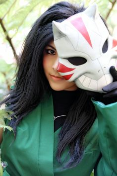 You're prettier without the mask! — Cheshire by MaskedMenoly.deviantart.com | ALA 2014  #cosplay