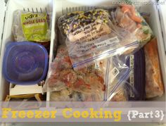 More Freezer Cooking Meals