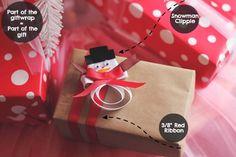 Sweet Gift Wrap Ideas