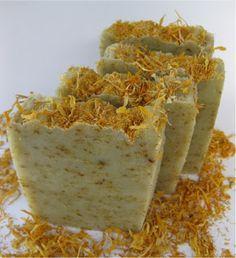 Cold Process Oven Process - Happy Gardener Soap recipe