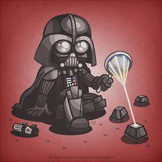Vader as a kid