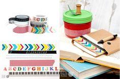 Back to School - Washi Tape #washitape pickyourplum.com