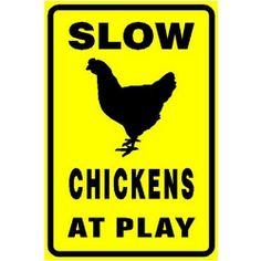 Chicken signs make great presents for chicken lovers - or get one for yourself!    It's the fashion now to decorate your chicken coop on the outside,...