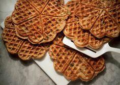 potato waffl, waffle iron, sweet potato