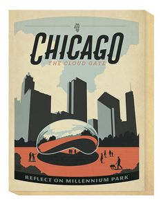 'Chicago, The Cloud Gate' by Anderson Design Group