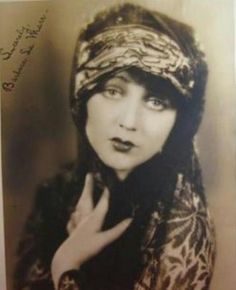 "Barbara La marr - Known as "" The girl who is too beautiful "" 1896-1926"