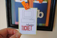 Tech ticket