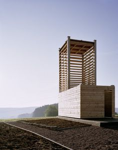 Field Chapel - Boedigheim, Germany - A project by: Ecker Architekten