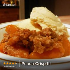 """Peach Crisp III 