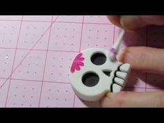 Sugar Skull Painting Tutorial - YouTube