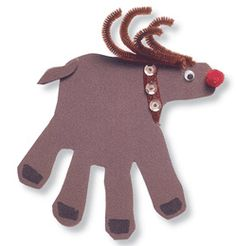 Holiday Craft Ideas for the Family! | Day 1: Reindeer Craft