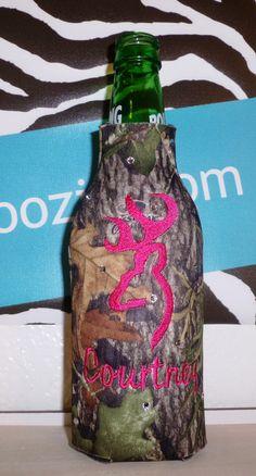 Browning Deer Head   koozies. $14.95, via Etsy.