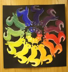 7th Grade color wheels | Dali's Moustache
