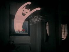 Another Cat .gif from Hausu (House).