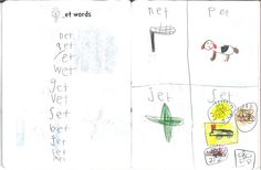 A Place Called Kindergarten: Reading & Writing Notebooks make a list and illustrate